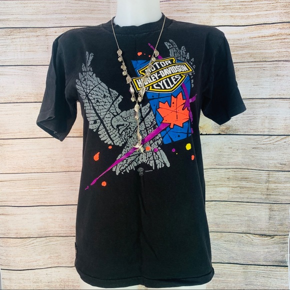 Harley Davidson T-shirt from the 90's - S-20